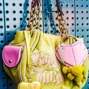 Real Juicy Couture Soft Shoulder Bag